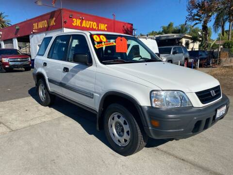2000 Honda CR-V for sale at 3K Auto in Escondido CA