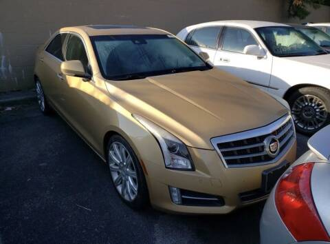 2013 Cadillac ATS for sale at Auto Solutions in Maryville TN