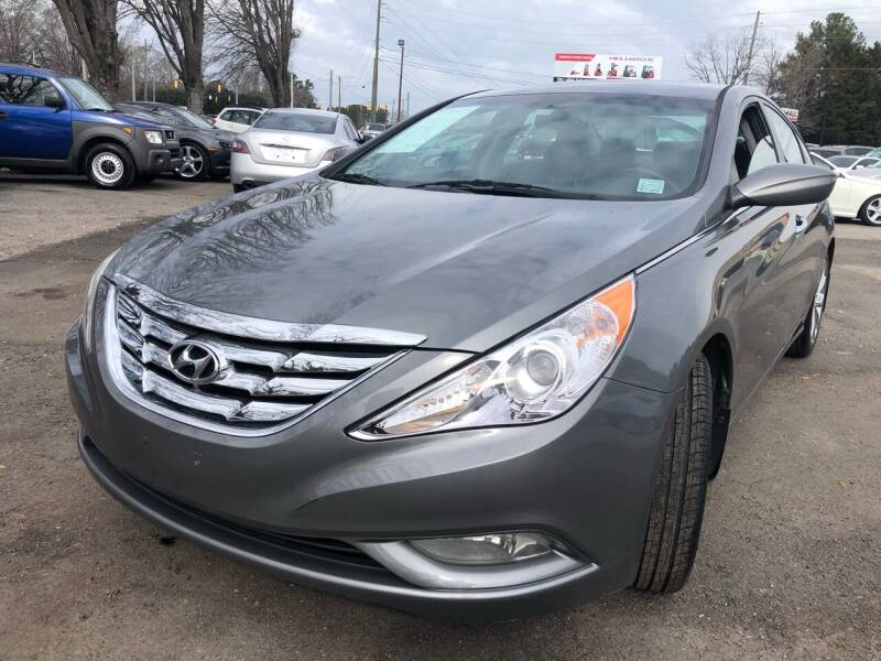 2013 Hyundai Sonata for sale at Atlantic Auto Sales in Garner NC