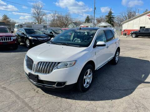 2011 Lincoln MKX for sale at Dean's Auto Sales in Flint MI