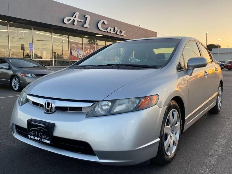 2008 Honda Civic for sale at A1 Carz, Inc in Sacramento CA