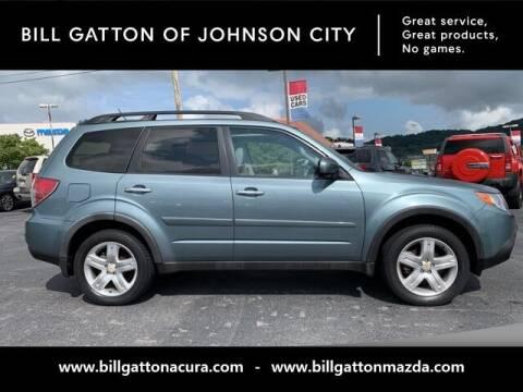 2009 Subaru Forester for sale at Bill Gatton Used Cars - BILL GATTON ACURA MAZDA in Johnson City TN