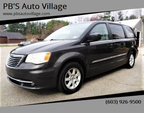2011 Chrysler Town and Country for sale at PB'S Auto Village in Hampton Falls NH