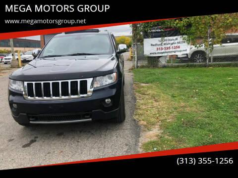 2011 Jeep Grand Cherokee for sale at MEGA MOTORS GROUP in Redford MI