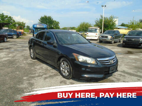 2012 Honda Accord for sale at J & F AUTO SALES in Houston TX