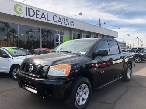 2008 Nissan Titan for sale at Ideal Cars Broadway in Mesa AZ