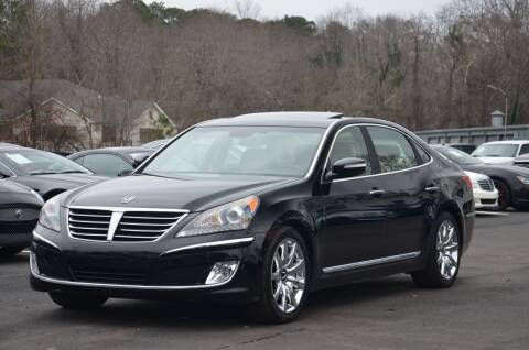 2012 Hyundai Equus for sale at Carxoom in Marietta GA
