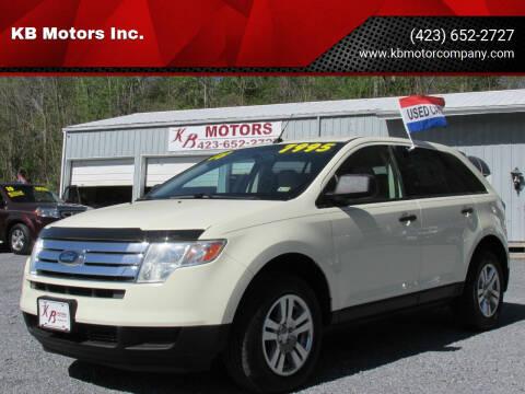 2008 Ford Edge for sale at KB Motors Inc. in Bristol VA