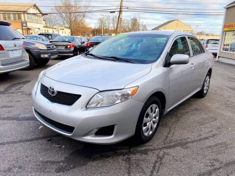 2010 Toyota Corolla for sale at Dijie Auto Sale and Service Co. in Johnston RI