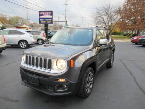 2017 Jeep Renegade for sale at Lake County Auto Sales in Painesville OH