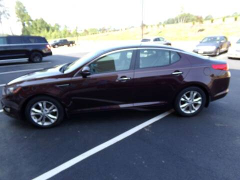 2013 Kia Optima for sale at West End Auto Sales LLC in Richmond VA
