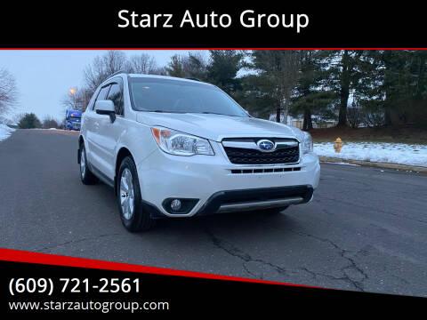 2014 Subaru Forester for sale at Starz Auto Group in Delran NJ