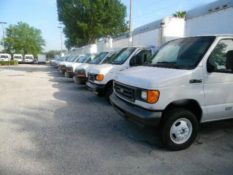 2012 Ford E-Series Chassis for sale at Longwood Truck Center Inc in Sanford FL