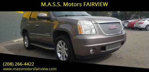 2011 GMC Yukon for sale at M.A.S.S. Motors - Fairview in Boise ID