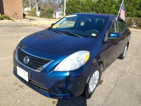 2013 Nissan Versa for sale at Hilton Motors Inc. in Newport News VA