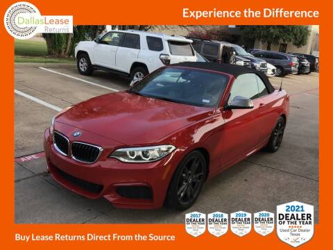 2016 BMW 2 Series for sale at Dallas Auto Finance in Dallas TX