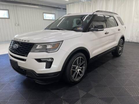 2018 Ford Explorer for sale at Monster Motors in Michigan Center MI