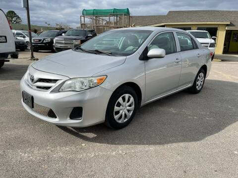 2013 Toyota Corolla for sale at RODRIGUEZ MOTORS CO. in Houston TX