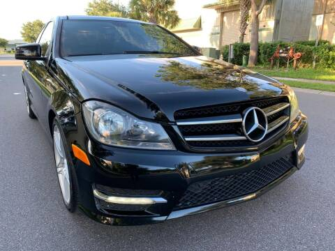 2014 Mercedes-Benz C-Class for sale at Presidents Cars LLC in Orlando FL