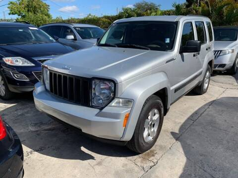 2011 Jeep Liberty for sale at America Auto Wholesale Inc in Miami FL
