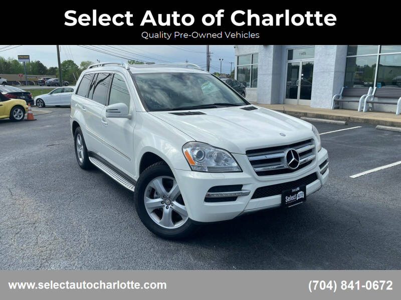 2012 Mercedes-Benz GL-Class for sale at Select Auto of Charlotte in Matthews NC