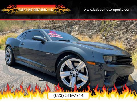 2013 Chevrolet Camaro for sale at Baba's Motorsports, LLC in Phoenix AZ