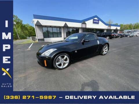 2009 Nissan 350Z for sale at Impex Auto Sales in Greensboro NC