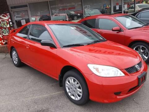 2004 Honda Civic for sale at Auto Villa in Danville VA