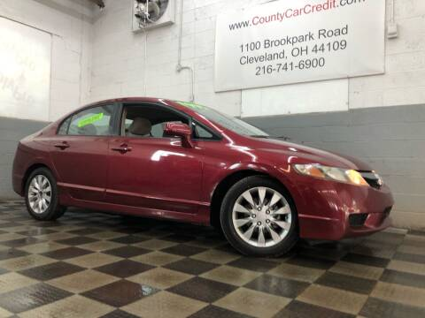 2011 Honda Civic for sale at County Car Credit in Cleveland OH
