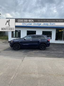 2014 Jeep Grand Cherokee for sale at Montevideo Auto center in Montevideo MN