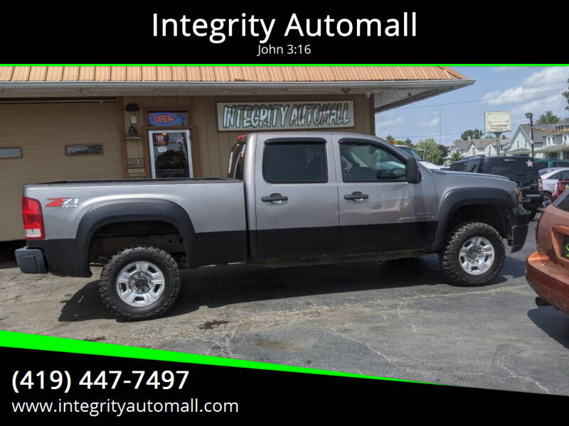2008 GMC Sierra 2500HD for sale at Integrity Automall in Tiffin OH