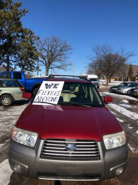 2006 Subaru Forester for sale at Continental Auto Sales in White Bear Lake MN