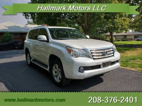 2010 Lexus GX 460 for sale at HALLMARK MOTORS LLC in Boise ID