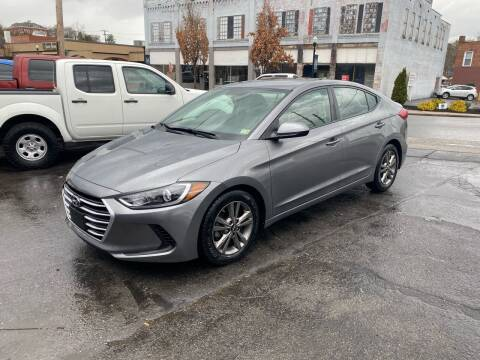 2018 Hyundai Elantra for sale at East Main Rides in Marion VA