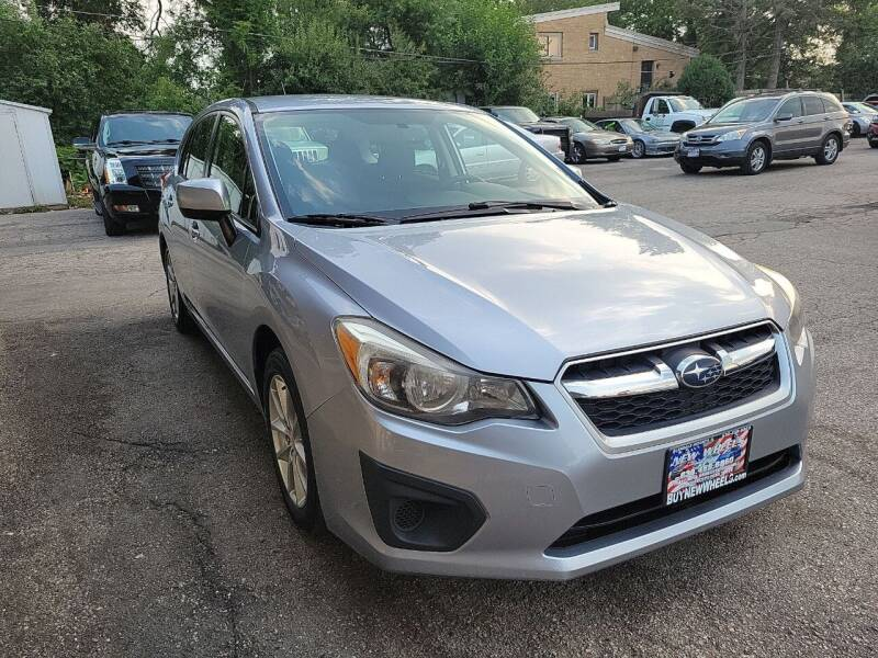 2014 Subaru Impreza for sale at New Wheels in Glendale Heights IL