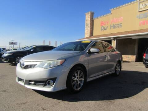 2012 Toyota Camry for sale at Import Motors in Bethany OK