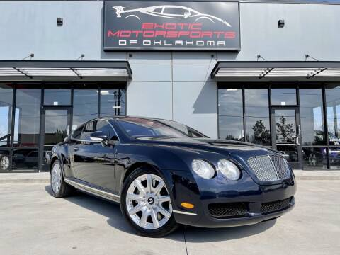 2005 Bentley Continental for sale at Exotic Motorsports of Oklahoma in Edmond OK