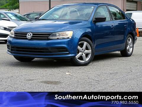 2016 Volkswagen Jetta for sale at Used Imports Auto - Southern Auto Imports in Stone Mountain GA