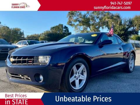 2010 Chevrolet Camaro for sale at Sunny Florida Cars in Bradenton FL