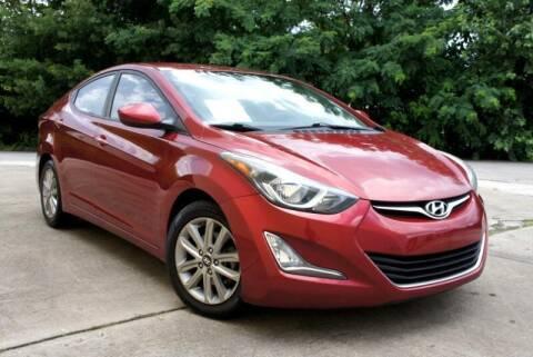 2015 Hyundai Elantra for sale at CU Carfinders in Norcross GA