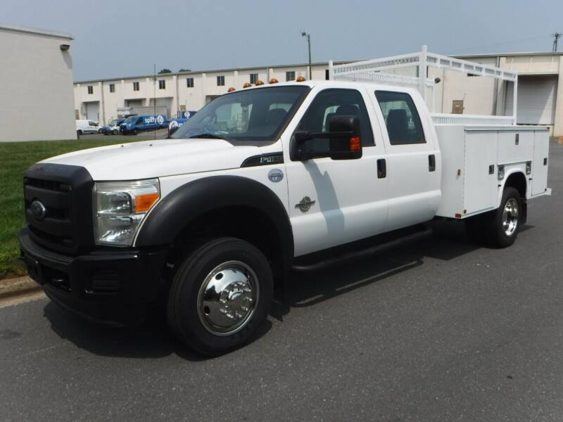 2013 Ford F-450 Super Duty for sale at A & Z AUTO BROKERS in Charlotte NC