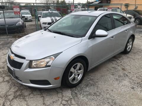 2013 Chevrolet Cruze for sale at Quality Auto Group in San Antonio TX