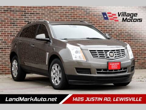 2014 Cadillac SRX for sale at Village Motors in Lewisville TX