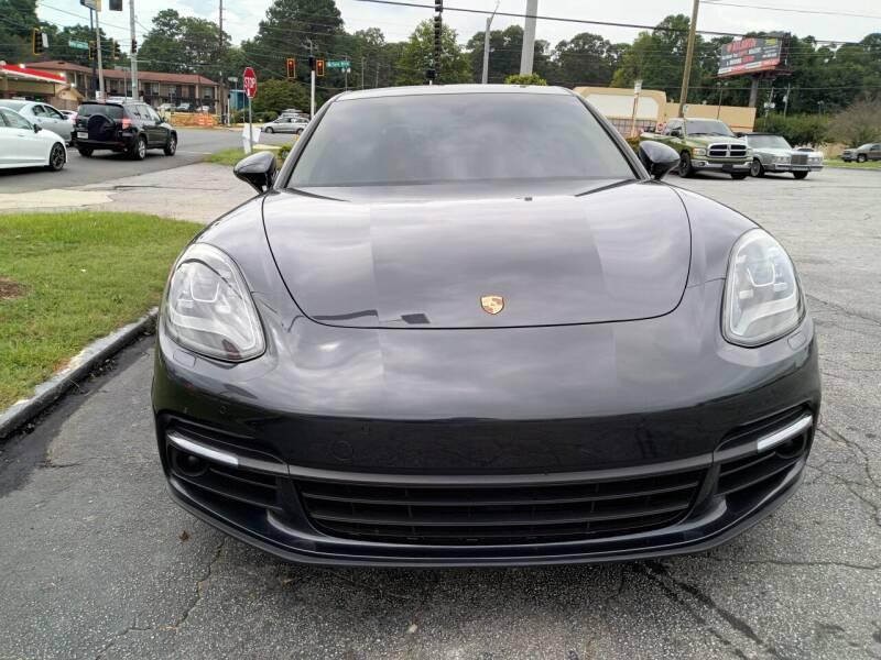 2018 Porsche Panamera for sale at Atlanta Fine Cars in Jonesboro GA