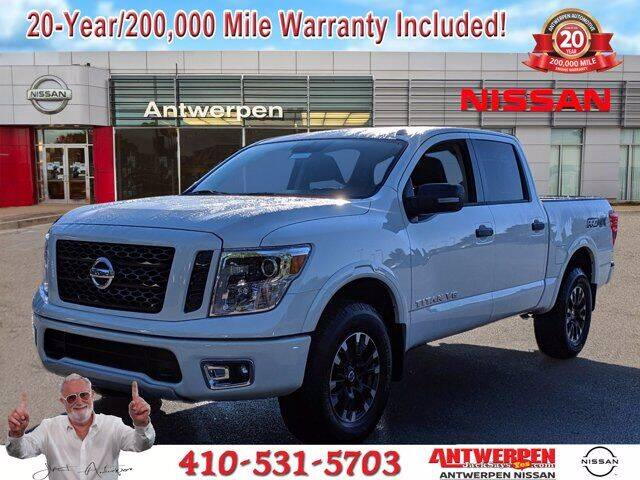 2019 Nissan Titan for sale in Clarksville, MD