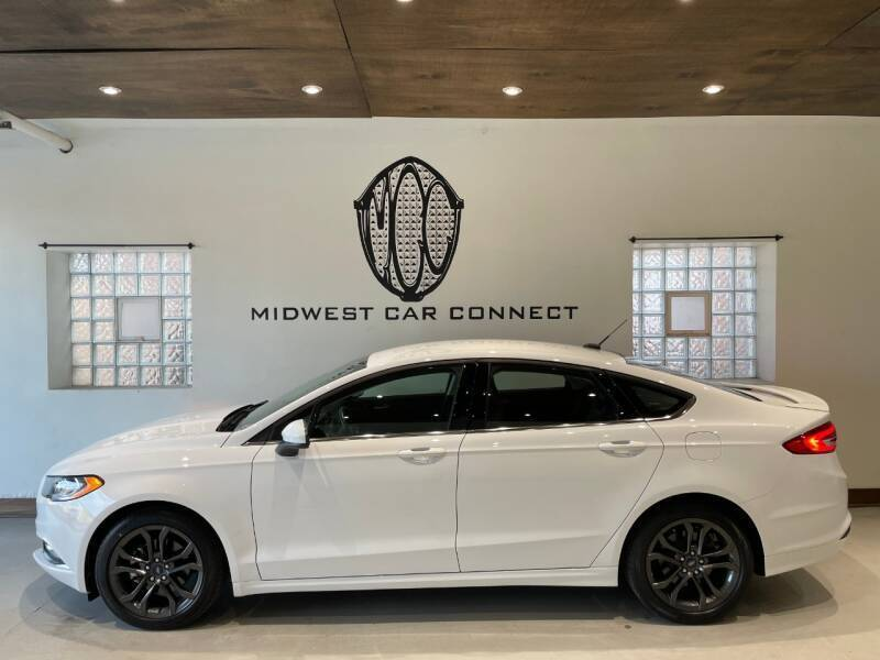 2018 Ford Fusion for sale at Midwest Car Connect in Villa Park IL