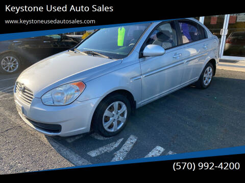 2008 Hyundai Accent for sale at Keystone Used Auto Sales in Brodheadsville PA