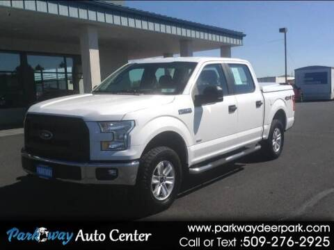 2017 Ford F-150 for sale at PARKWAY AUTO CENTER AND RV in Deer Park WA