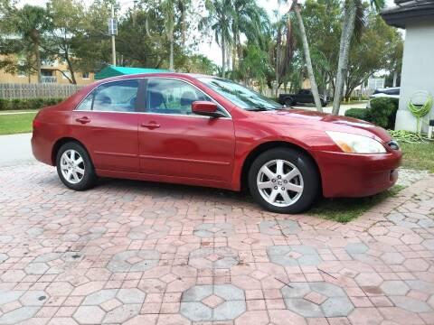 2005 Honda Accord for sale at Cad Auto Sales Inc in Miami FL