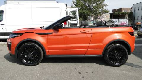2019 Land Rover Range Rover Evoque Convertible for sale at AFFORDABLE MOTORS OF BROOKLYN in Brooklyn NY